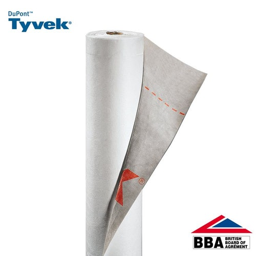 Tyvek Supro Breather Membrane 1m Wide - Cut to Size Length per Metre