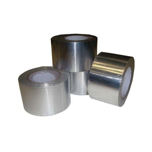 Aluminium VCL Foil Tape from Novia - 45m x 75mm Roll