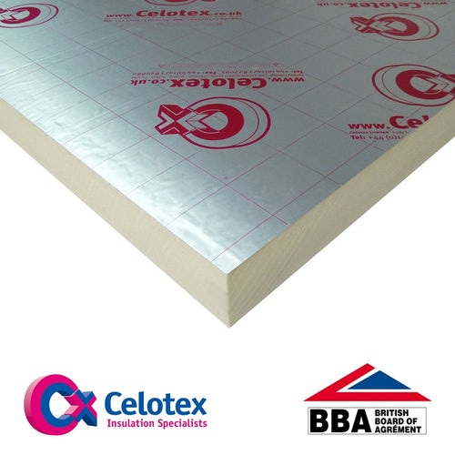 Celotex 70mm GA4070 Insulation Board - 2.4m x 1.2m
