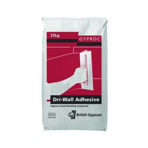 Gyproc DriWall Adhesive for Plasterboard - 25kg Bag