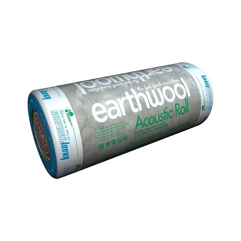 Video of Knauf Acoustic Roll Insulation 600mm Wide Earthwool 75mm - 15m2 Pack