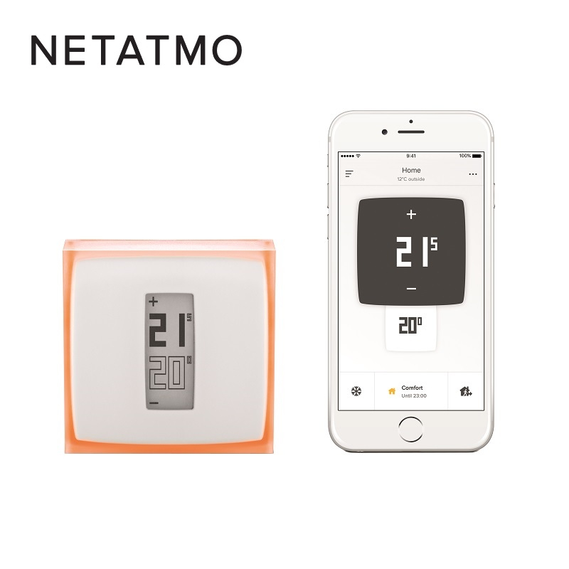 netatmo smart thermostat insulation superstore. Black Bedroom Furniture Sets. Home Design Ideas