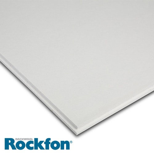 Rockfon Tropic-Alaska E24 Tegular Ceiling Tiles 600mm x 600mm - 5.76m2