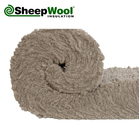 Premium sheepwool insulation 100pc natural 150mm x 380mm for Sheeps wool insulation prices