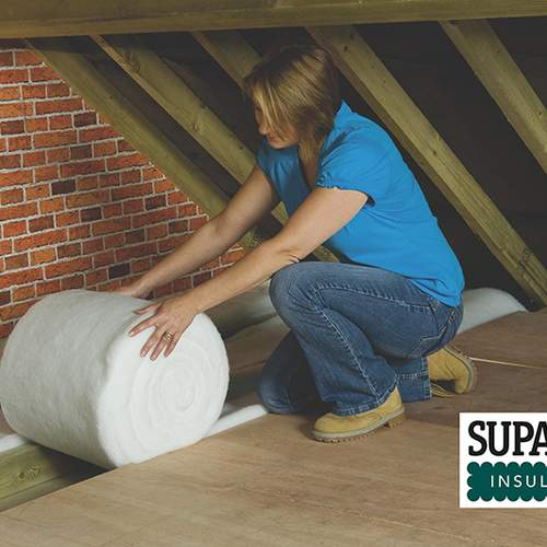 supasoft-recycled-loft-roll-insulation-situ