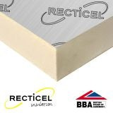 Recticel Eurothane GP PIR Rigid Insulation Board - 2.4m x 1.2m x 70mm