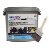 Blowerproof Liquid Brush Membrane in White - 5kg