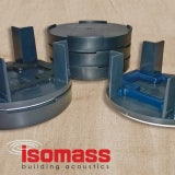 Isomass Isocheck Acoustic Floor Cradle Packers 2mm - Box of 500