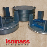 Isomass Isocheck Acoustic Floor Cradle Packers 5mm - Box of 500