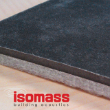 Isomass Isocheck Impact Mat 200 Acoustic Floor - 1200mm x 600mm