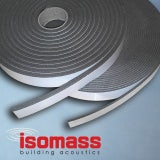 Isomass Isocheck Acoustic Floor Isolation Strip - 50mm x 10mm x 10m