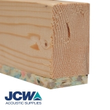 JCW Acoustic Batten 80T for Timber Floors - 80mm x 42mm x 1.8m Length