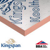 Pitched Roof Insulation K107 Kooltherm by Kingspan 100mm - 8.64m2 Pack