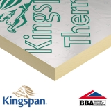 Kingspan Thermapitch TP10 2.4m x 1.2m x 25mm - 34.56m2 pack (12 sheets)