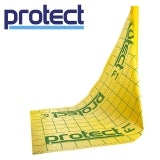 Protect F1 Floor Protection Membrane with Integral Tapes - 1.5m x 50m