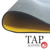 Tap Acoustic Class O Acoustic Foam 10mm Self Adhesive Backed - 1.2m x 2m Sheet